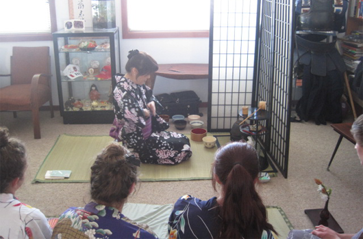 ARET australian recreation and educational tours wollongong japanese immersion - tea ceremony